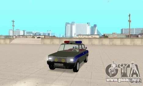 VAZ 2101 policía para GTA San Andreas