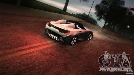BMW Vision Connected Drive Concept para vista inferior GTA San Andreas
