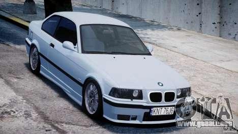 BMW M3 e36 para GTA 4 vista interior