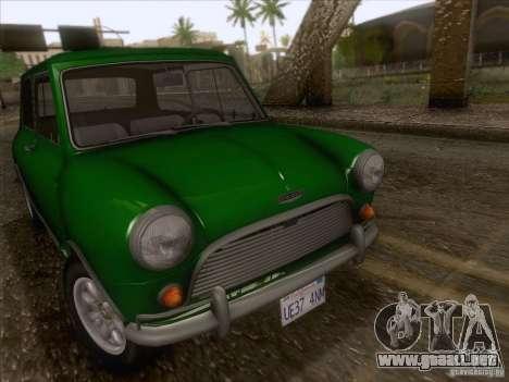 Austin Cooper S 1965 para la visión correcta GTA San Andreas