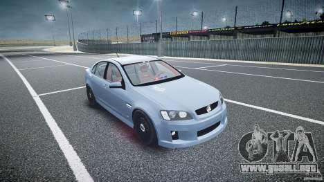 Holden Commodore (FBINOoSE) para GTA 4 vista hacia atrás