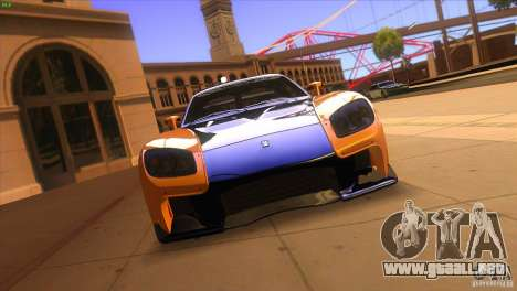 Mazda RX7 Veilside para visión interna GTA San Andreas