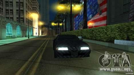 Elegy Carbon Style V 1.00 para GTA San Andreas left