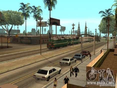 Vl80s-2532 para GTA San Andreas vista hacia atrás