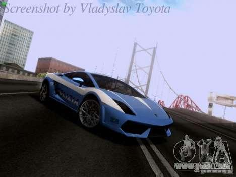 Lamborghini Gallardo LP560-4 Polizia para GTA San Andreas