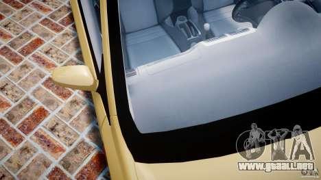 Honda Civic Type R 2005 para GTA 4 vista desde abajo