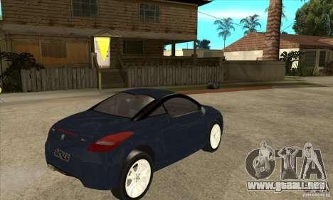 Peugeot RCZ 2011 para la visión correcta GTA San Andreas