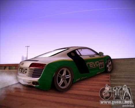 Audi R8 Shift para la visión correcta GTA San Andreas
