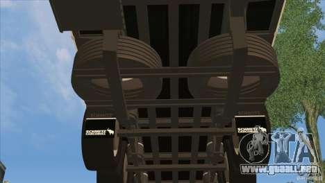 SchmitZ Cargobull para vista inferior GTA San Andreas