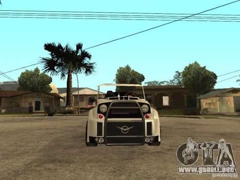 Uaz Cabriolet para la visión correcta GTA San Andreas