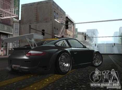 Porsche 911 GT3 RSR RWB para GTA San Andreas left