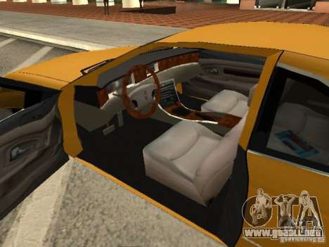 Lincoln Mark VIII 1996 para GTA San Andreas vista posterior izquierda