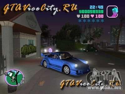 Porsche 911 VEILSIDE para GTA Vice City