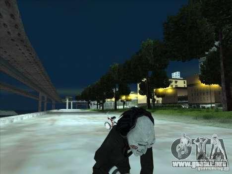 Saw para GTA San Andreas sexta pantalla