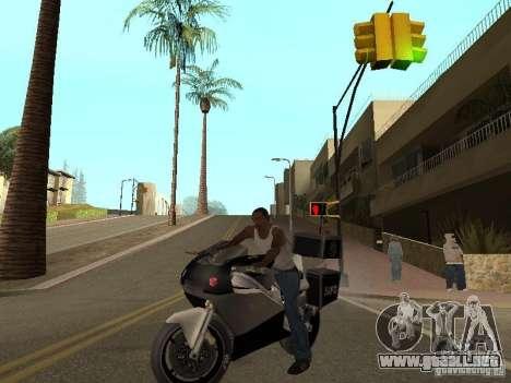 NRG-500 Police para la visión correcta GTA San Andreas