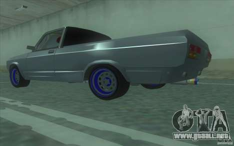 Lada 2107 Street Racing para GTA San Andreas left