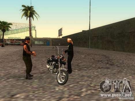 La escuela realista motociclistas v1.0 para GTA San Andreas octavo de pantalla