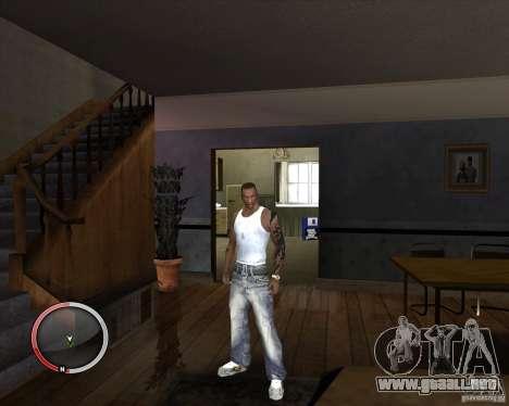 Nueva Jersey para CJ para GTA San Andreas tercera pantalla