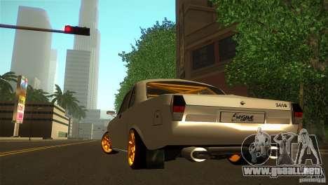 GAZ 24 para GTA San Andreas vista posterior izquierda