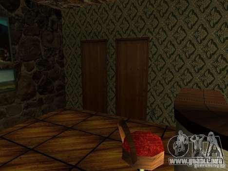 Nueva barra de texturas UFO para GTA San Andreas tercera pantalla