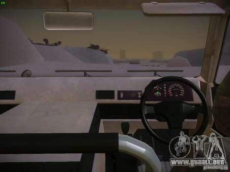 Toyota Mega Cruiser para la visión correcta GTA San Andreas