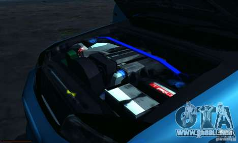 Toyota Mark II Tuning para visión interna GTA San Andreas