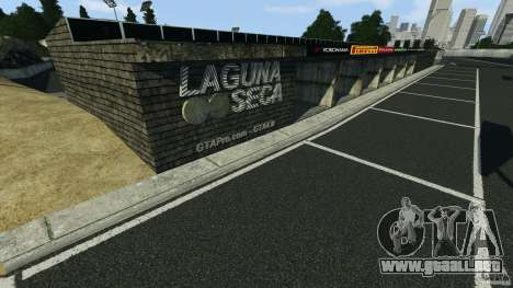 Laguna Seca [Final] [HD] para GTA 4 adelante de pantalla