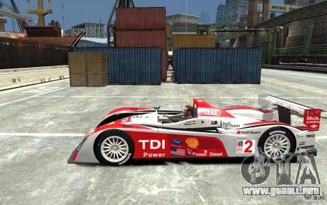 Audi R10 TDI para GTA 4 left