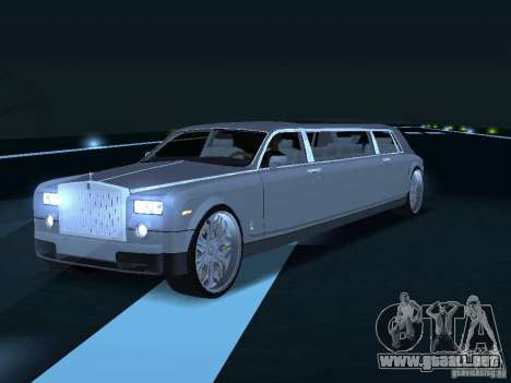 Chofer de limusina Rolls-Royce Phantom 2003 para la visión correcta GTA San Andreas