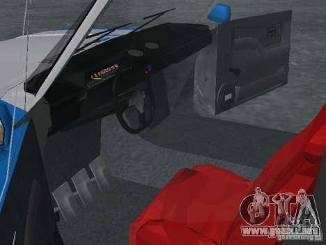 VAZ 2101 marinero para GTA San Andreas vista hacia atrás