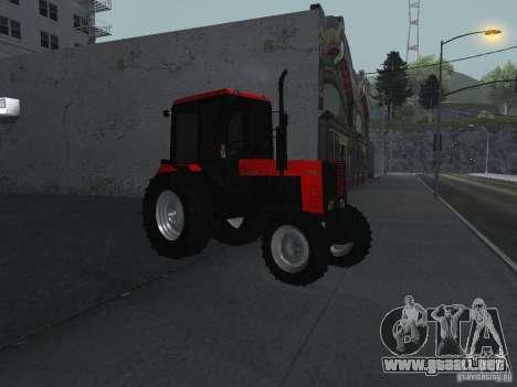 Tractor MTF 1025 para la visión correcta GTA San Andreas