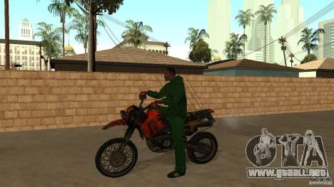 Motocicleta Mirabal para GTA San Andreas