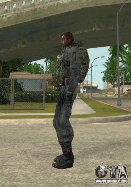 Agrupación de mercenarios de un acosador para GTA San Andreas segunda pantalla