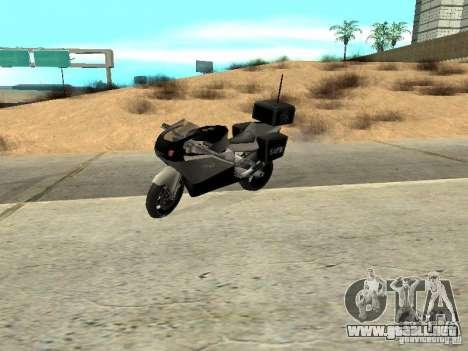 NRG-500 Police para GTA San Andreas