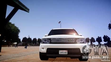Range Rover Sport Supercharged v1.0 2010 para GTA 4 vista lateral