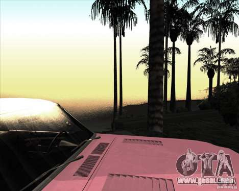 ENBSeries NORTH para GTA San Andreas sucesivamente de pantalla