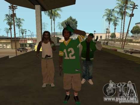 Nuevos aspectos Grove para GTA San Andreas segunda pantalla