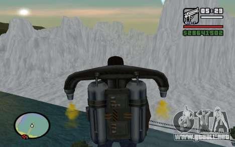 Mountain map para GTA San Andreas sucesivamente de pantalla