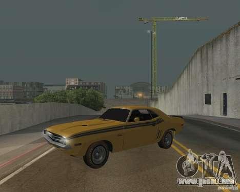 Dodge Chellenger V2.0 para GTA San Andreas
