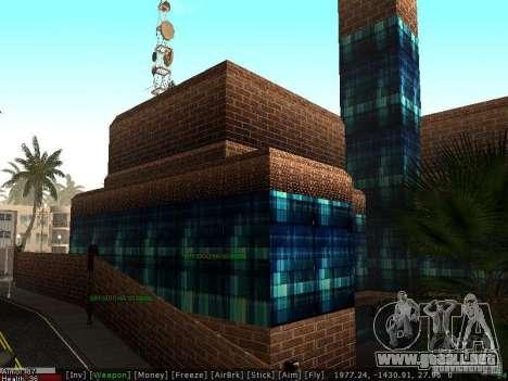El nuevo hospital de Los Santos para GTA San Andreas sucesivamente de pantalla
