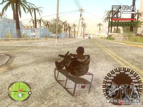 Sani para vista inferior GTA San Andreas