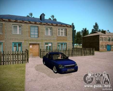 Lada Priora Chelsea para visión interna GTA San Andreas