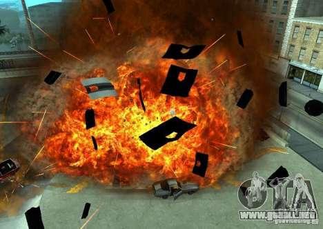 Nuevos efectos de explosiones para GTA San Andreas tercera pantalla