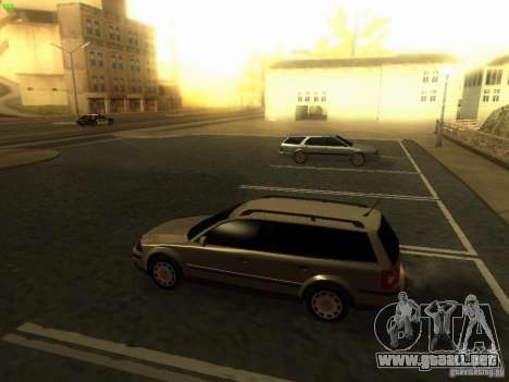 Vw Passat B5+ Wagon 1,9 TDi para GTA San Andreas left