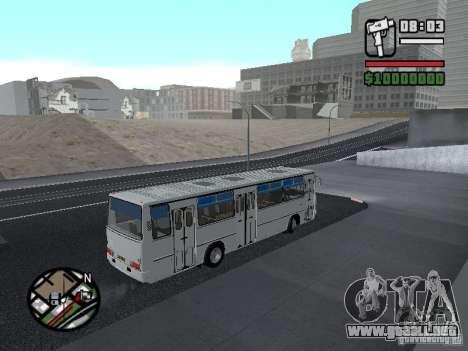 Ikarus 266 ciudad para visión interna GTA San Andreas