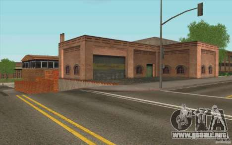 Estación de bomberos para GTA San Andreas sucesivamente de pantalla