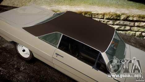 Plymouth Scamp 1971 para GTA 4 vista lateral