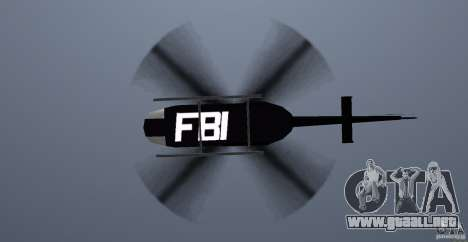 FBI Maverick para GTA Vice City vista interior