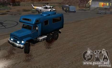 Journey 6x6 Enterable V1 para la visión correcta GTA San Andreas