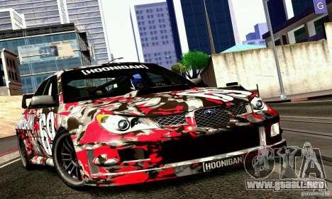 Subaru Impreza WRX STi Gymkhana para GTA San Andreas